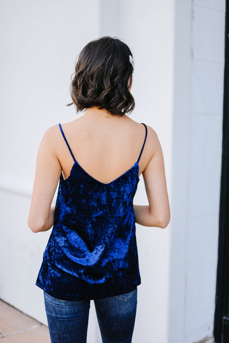 Secret Crush Cami In Navy