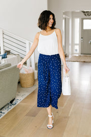 Star Gazer Gaucho Pants