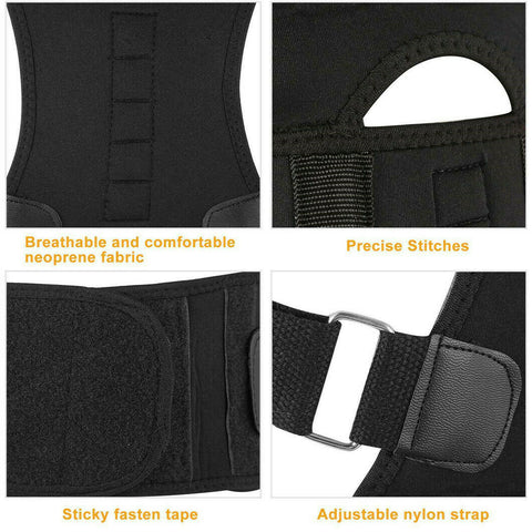 posture corrector fully adjustable back brace
