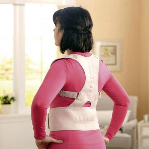 DurablePro™ <br>Magnetic Therapy Posture Corrector <br>Fully Adjustable Back Brace (Unisex) - EcoBraces®