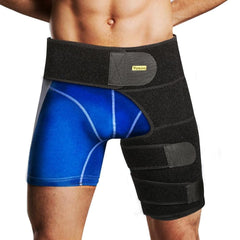 Groin Hip Thigh Brace - Compression Support Joint Pain, Pulled Groin, Sciatic Nerve Pain