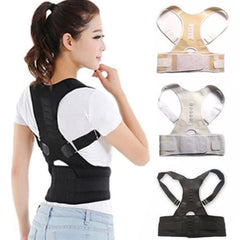 DurablePro™ Magnetic Therapy Posture Corrector Fully Adjustable Back Brace (Unisex)