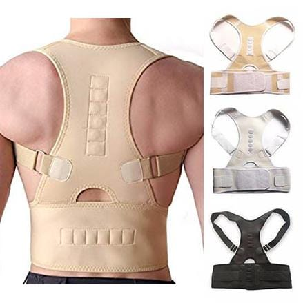 DurablePro™ <br>Magnetic Therapy Posture Corrector <br>Fully Adjustable Back Brace (Unisex)