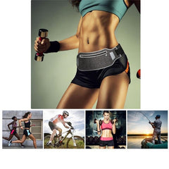 FlipBelt™ Running Belt Waistbag - Phone Pouch for Jogging Cycling Waist Belly Bag Wallet Gym Sport Accessories