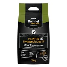 Racinel Black Label Senior Chicken 3kg TARJOUS -40%