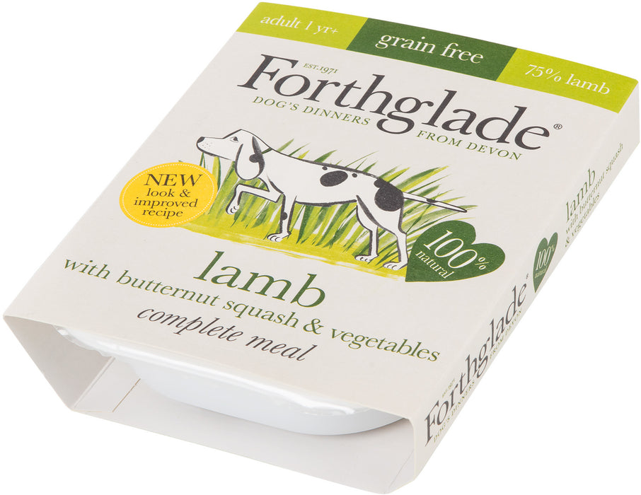 Forthglade Complete Adult Lamb, Butternut Squash & Vegetables Grain Free 7 x 395 g