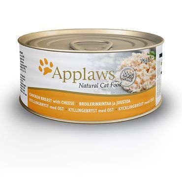 Applaws Cat Kananrinta & Juusto 24 x 70g