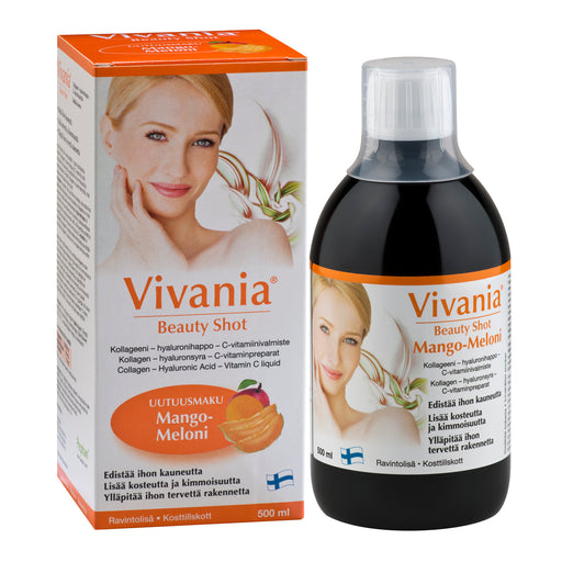 Vivania Beauty Shot Mango-Meloni 500ml