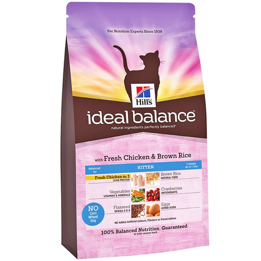 Hill's Ideal Balance Feline Kitten 2 kg