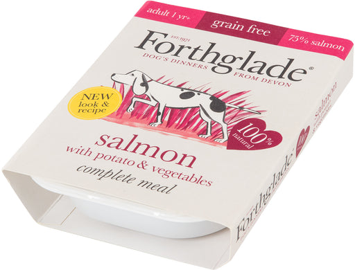 Forthglade Complete Adult Salmon with Potato & Vegetables Grain Free 395 g