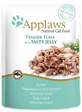 Applaws cat Tonnikalafile hyytelössä 70g