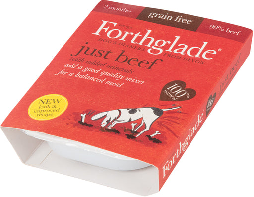 Forthglade Just Beef Grain Free 395 g