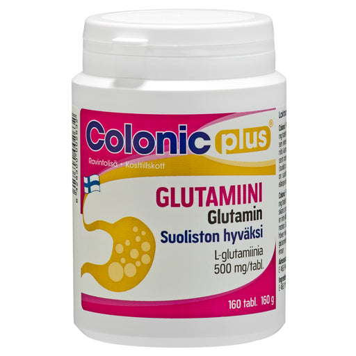 Colonic Plus Glutamiini 160 tablettia