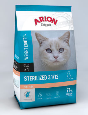 Arion Original Cat Adult Sterilized Salmon 300 g