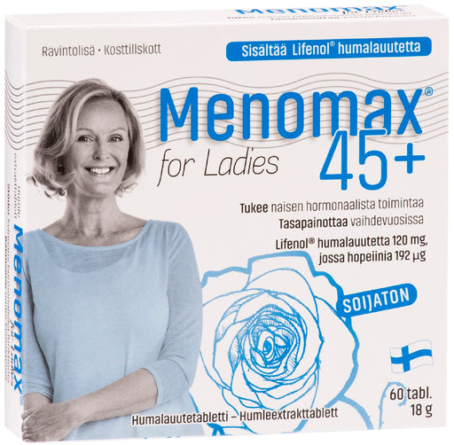 Menomax For Ladies 60 tablettia