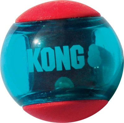 Kong squeezz action ball M