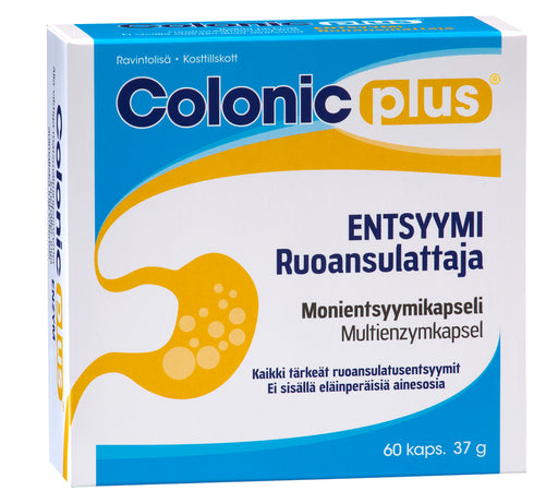 Colonic Plus Entsyymi 60 kapselia