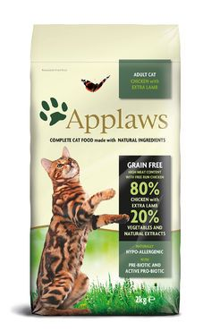 Applaws Cat Adult Chicken & Lamb 400 g