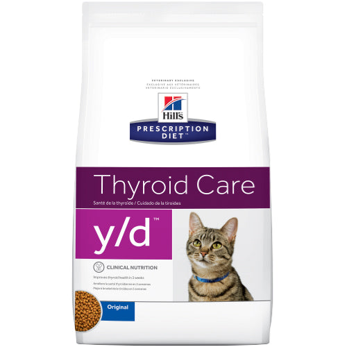 Hill's Feline y/d Thyroid Care Dry 5 kg