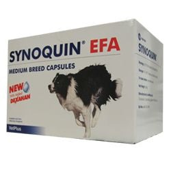 Synoquin EFA Medium Breed kapseli 120 kapselia