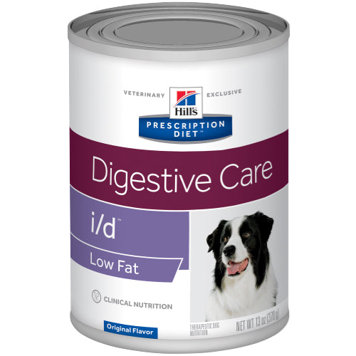 Hill's Canine i/d Low Fat Digestive Care Wet 12 x 360 g