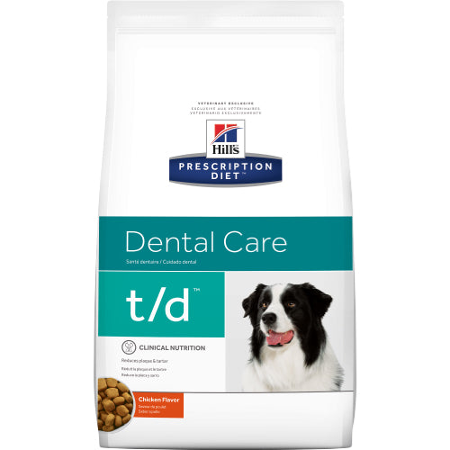 Hill's Canine t/d Dental Care Dry 3 kg