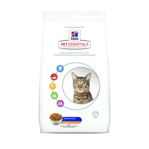 Hill's Vet Essentials Feline Mature Adult Dry  6,5 kg