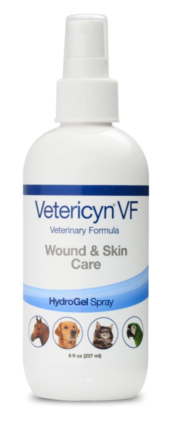 Vetericyn+ VF Wound & Skin Care HydroGel Spray 237 ml