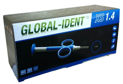 Global-Ident XS mikrosiru 10 kpl