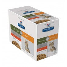 Hill's Feline Metabolic + Urinary Wet 12 x 85 g