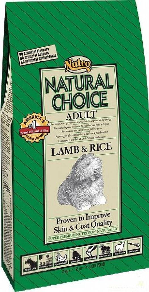 Nutro Adult Lamb & Rice  12 kg