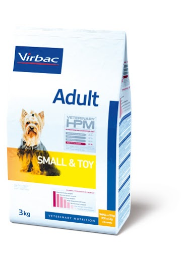 Virbac HPM Adult Dog Small & Toy 7 kg