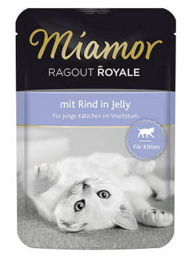 Miamor Ragout Royale Kitten Jelly nauta 100 g