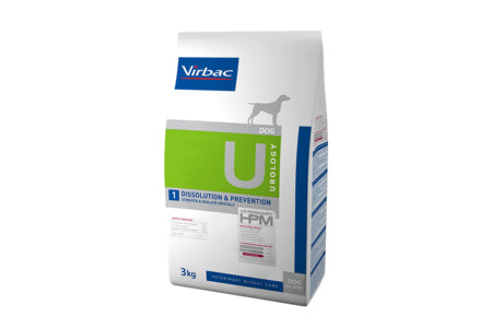 Virbac HPM Urology Dissolution & Prevention Dog 3 kg