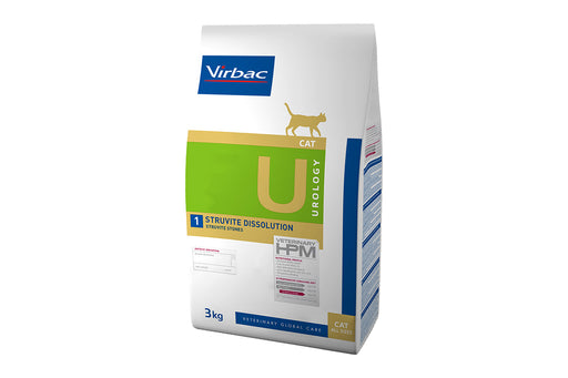 Virbac HPM Urology Struvite Dissolution Cat 1,5 kg
