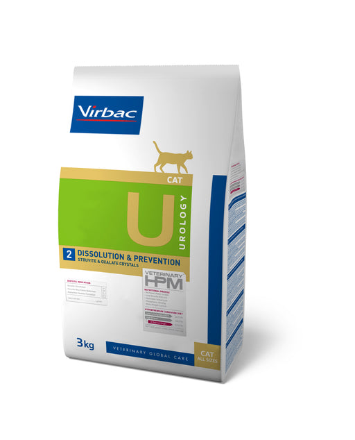 Virbac HPM Urology Dissolution & Prevention Cat 3 kg
