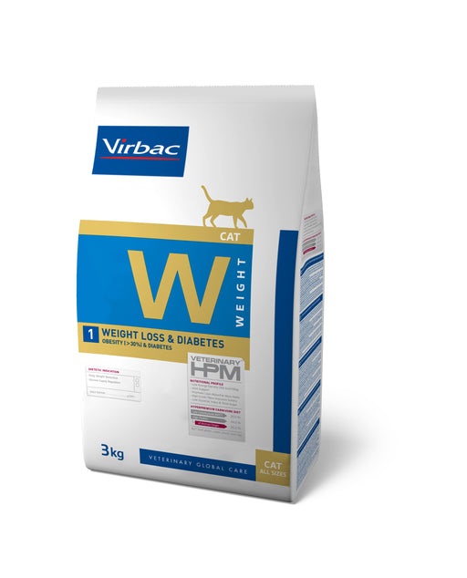 Virbac HPM Weight Loss & Diabetes Cat 1,5 kg
