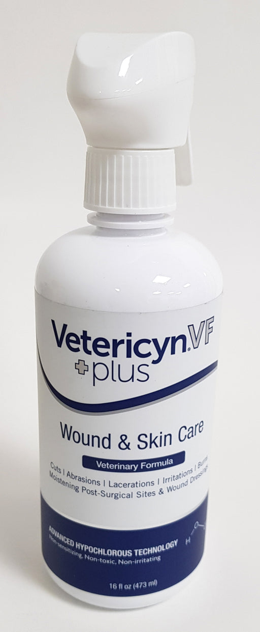 Vetericyn+ VF Wound & Skin Care 473 ml