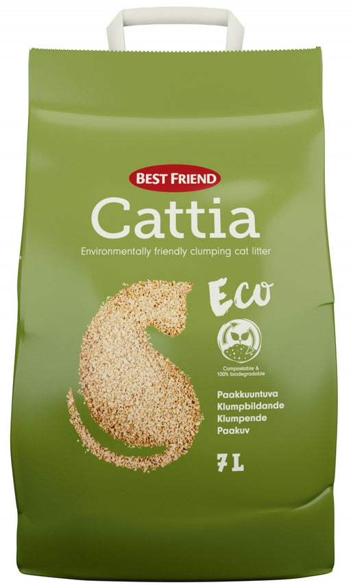 Best Friend Cattia Eco 7L puukuituhiekka
