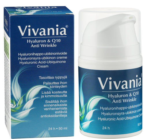 Vivania Hyaluron & Q10 Anti Wrinkle 50 ml