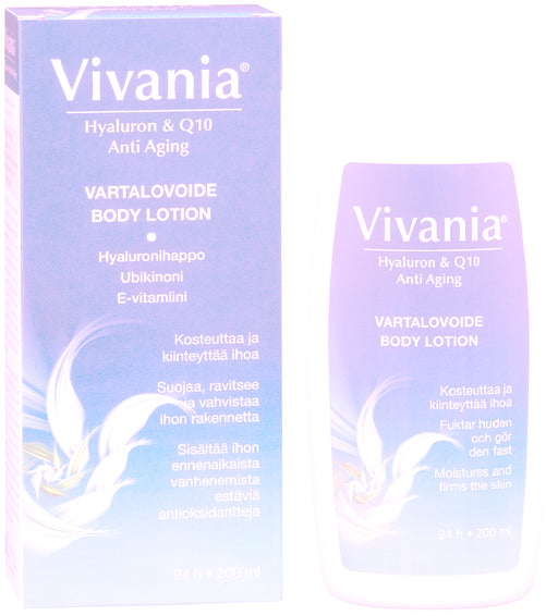 Vivania Hyaluron & Q10 Anti Aging Body Lotion 200 ml