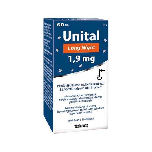 Unital Long Night 1,9 mg tabletti 30 kpl