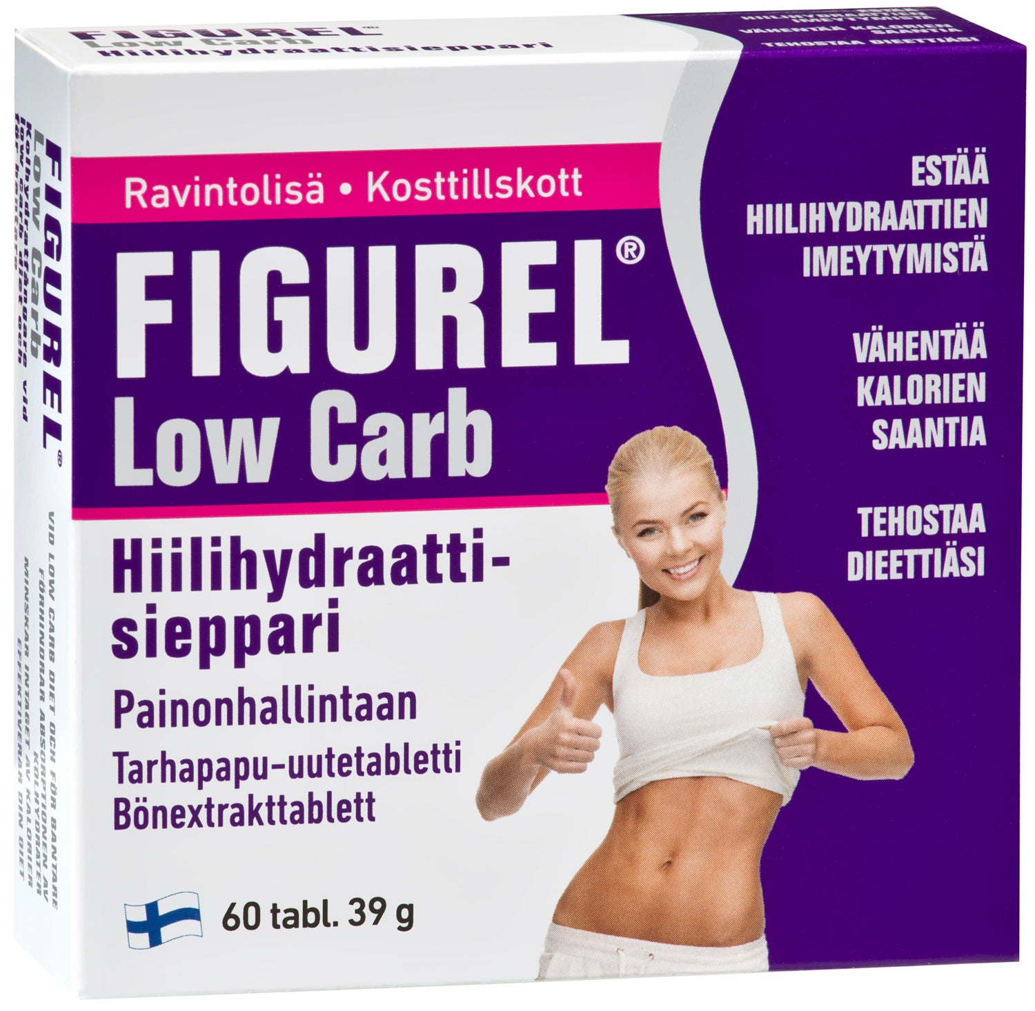 Figurel Low Carb 60 tablettia