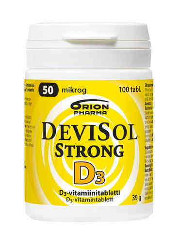 Devisol Strong 50 mikrog imeskelytabletti 100 kpl