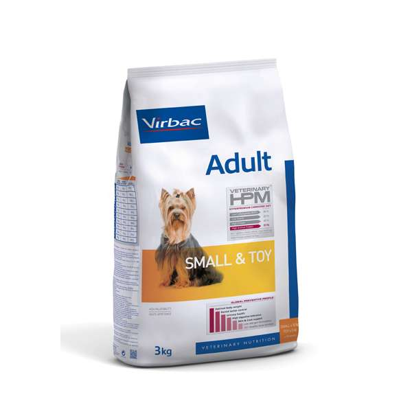 Virbac HPM Adult Dog Small & Toy tuotenäyte 100 g
