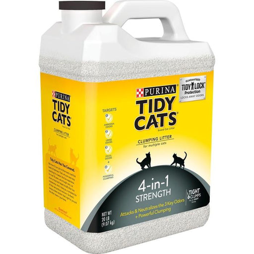 Purina Tidy Cats 4-in-1 Strength 9 kg -kissanhiekka