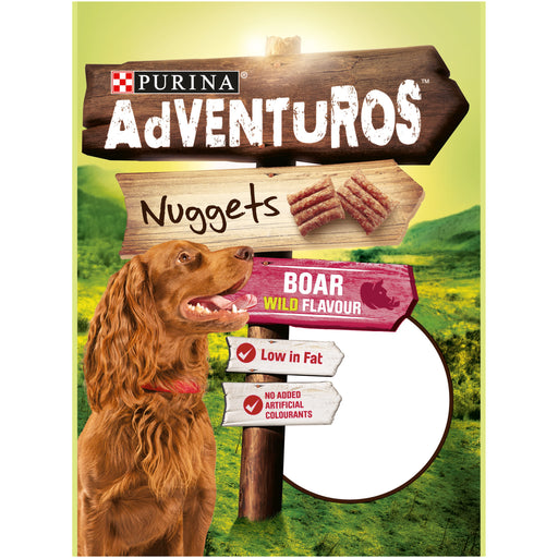 AdVENTuROS Nuggets makupala koiralle 90 g