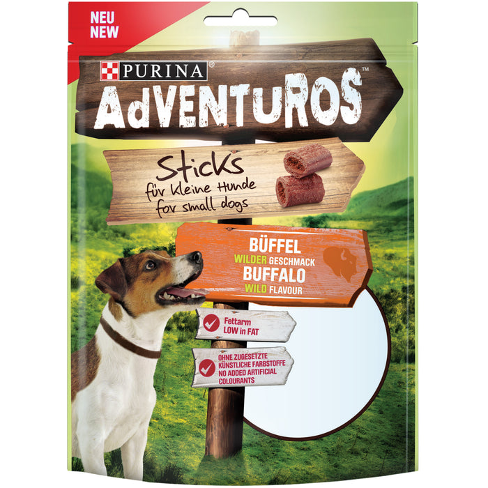 AdVENTuROS Sticks makupala pienelle koiralle 90 g