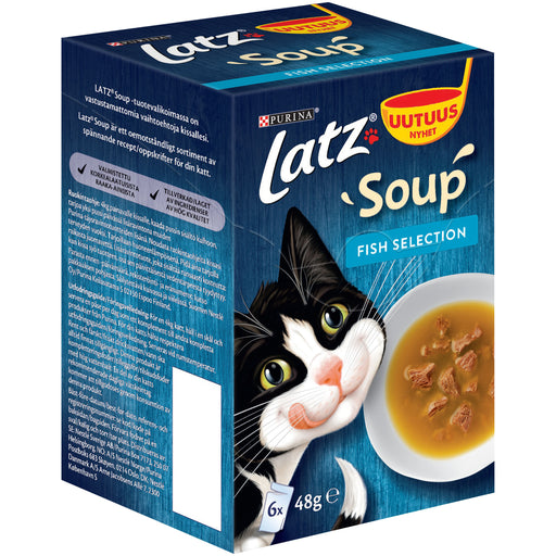 Latz Soup Fish Selection 6 x 48 g