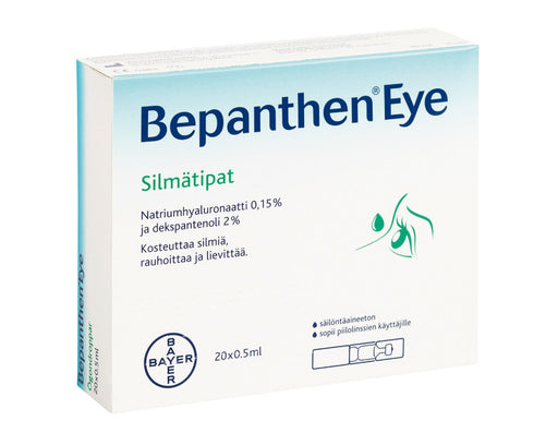 Bepanthen Eye Silmätipat 20 x 0,5ml